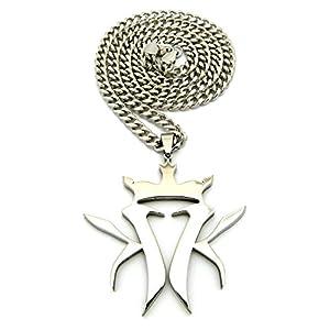 Crescendo SJ INC New Kottonmouth Kings Anhänger & 5/76,2cm Cuban Link Kette Halskette rc507ccr