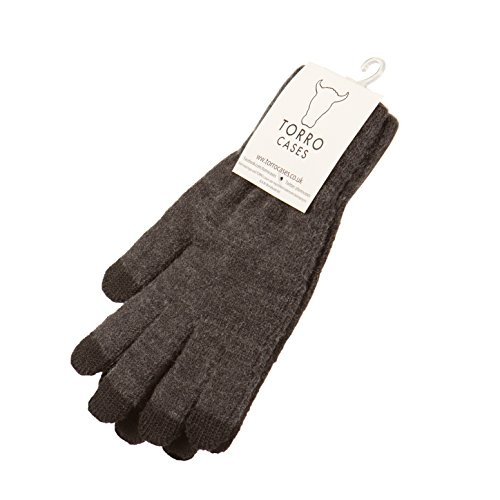 100-wool-touchscreen-gloves-in-charcoal-grey-by-torro-medium-charcoal-grey