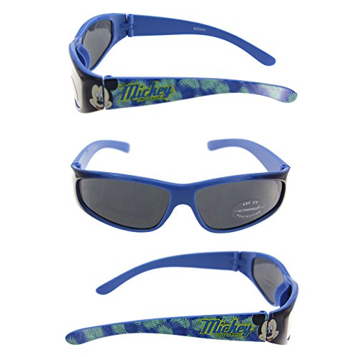 Disney UV Protected Wrap-Around Boy's Sunglasses - (SG100538|40|Black Color)