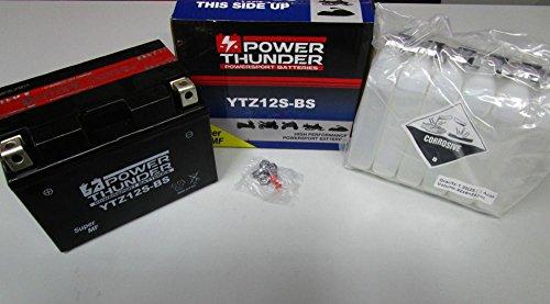 Akku Power Thunder YTZ12S-BS (versiegelt mit Säure mit CORREDO) 12V/11AH (Akkus Power Thunder)