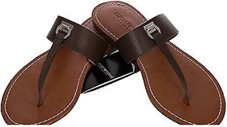 EMPORIO ARMANI thong sandal a. a. a. 5P385 size 37 262515 c. BROWN 06153 9e01fa