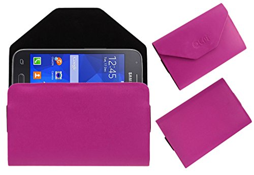 Acm Premium Pouch Case For Samsung Galaxy S Duos 3 Sm-G313hu Flip Flap Cover Holder Pink  available at amazon for Rs.179