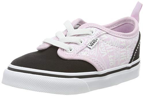 Vans Unisex Baby Atwood Slip on Sneaker, Pink ((OTW Repeat) Lilac Snow/True White V2v), 24.5 EU Signature-slip-ons