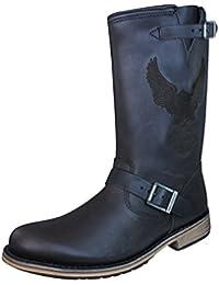 HARLEY DAVIDSON - Biker-Boots - CLINT D95183 - brun