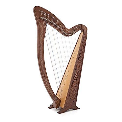 Irische Harfe 36 String mit Hebeln von Gear4music