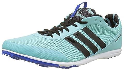 Adidas Distancestar W, Chaussures d'Athlétisme Femme, Multicolore (Clear Aqua/Core Black/Blue),