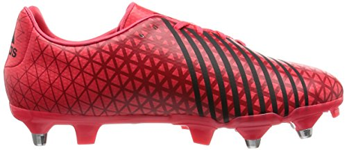 Adidas Malice Sg, Scarpe Rugby Uomo Rosso (Rojo (Rojimp / Negbas / Rojpot))