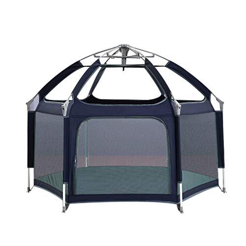 Esagono Play Tent,Toy House di Pop-Up di Girls Boys-per Divertimenti Indoor  e Outdoor,Filato A 360 ° -Ventilazione Anti-Zanzara/Materiale di Alta