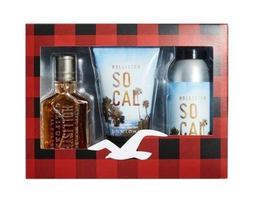 Hollister Socal Eau de Cologne, Bodywash, BodySpray Geschenkset (Hollister Abercrombie)