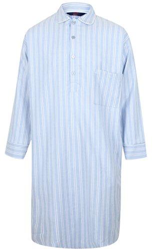 Camicia da Notte in Puro Cotone a righe - Uomo (M)