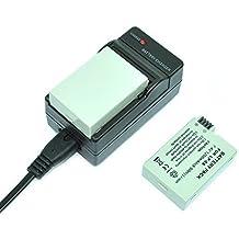 mondpalast@ 2X Reemplazo Li-ion batería x LP-E8 LPE8 LP E8 infochip 1200mah + cargador para Canon EOS 550D 600D 650D 700D