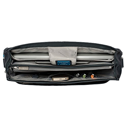 Piquadro Cartable Porte Ordinateur Nero