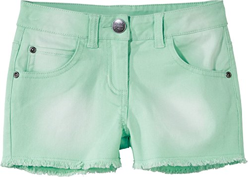 Golden Lutz PEPPERTS® Kinder Mädchen Jeans Shorts (hell smaragd/beige, Gr. 122)