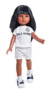 Paola Reina 04724 Nora Amiga Real Madrid, Muñeca de 32 cm