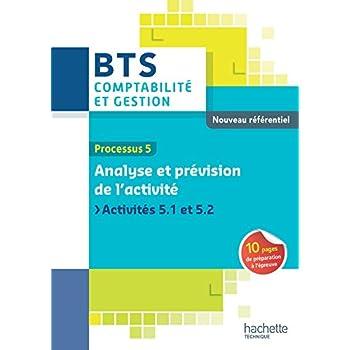 P5 Analyse et prévision de l'activité BTS CG Ed 2015
