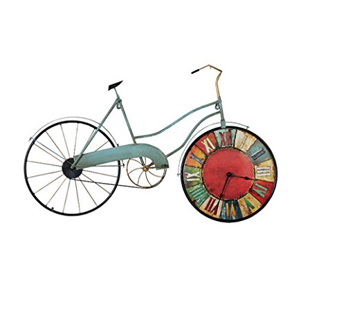 Homesave Wand-Dekor Metall Eisen Land Rustikale Retro Fahrrad Wandbehang Wand Kunst 1 - Rustikale Wand-kunst