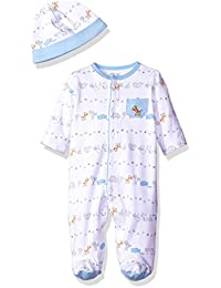 5e15e3b6849f5 Little Me Baby Fun Footie with Hat