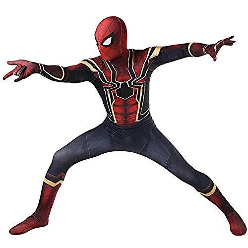 -Man Cosplay Kostüm Erwachsenes Kind Halloween Kostüm Party Movie Prop Superheld Siamese Strumpfhosen,Small ()