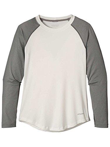 Damen Longsleeve Patagonia Tropic Comfort Crew T-Shirt White