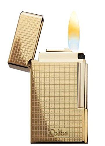 COLIBRI Feuerzeug Wellington II gold Karodesign Höhentauglichkeit bis 2743 m - 2