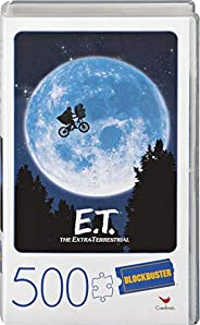 Spin Master Games E.T. the Extra-Terrestrial Movie Puzzle da 500 pezzi in plastica retrò Blockbuster VHS Video