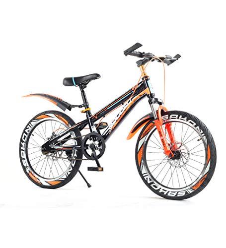 SJSF Y Kinderfahrräder Mountainbike Für Kinder, 16/18/22'' Student Kinderfahrrad rutschfest Reifen Sicherheit Doppelbremse Einstellbare Sitzhöhe Für Den Lenker,20inch