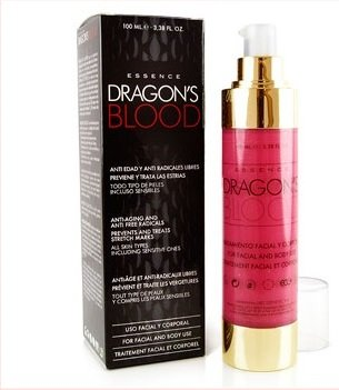 MyGlamy 100 ml Luxus Dragon's Blood Dekoltee Creme Drachen Blut Serum Retinol 100% Bio Anti Aging Hauterneuerung