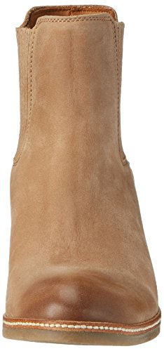 Shabbies Amsterdam Shabbies Chelsea Boot Mit Absatz, Bottes courtes Chelsea femme Beige (Light Brown)