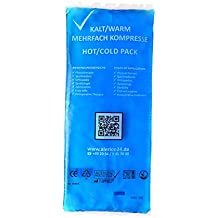 Kalt-Warm Mehrfachkompresse 12x29cm, 5er Pack (5 x 1 Stück)