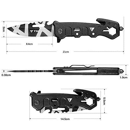 Zoom IMG-3 yimidon coltelli pieghevole multiuso coltello