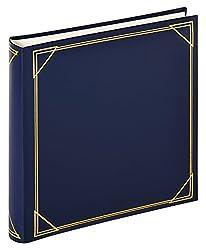 walther design MX-200-L Classicalbum Standard, Fotoalbum, blau, 30 x 30 cm