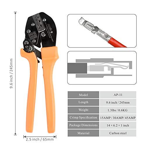 Zoom IMG-1 iwiss ratchet wire crimper tools