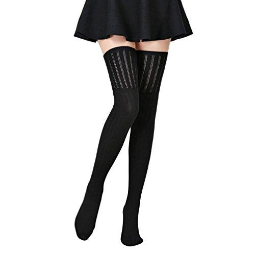 damen-winter-halterlose-strumpfe-transerr-warmer-hakeln-sock-knie-lange-acryl-kniestrumpfe-70cm-schw