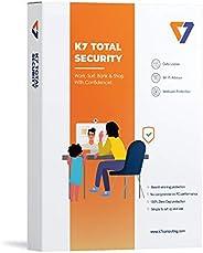K7 Total Security Antivirus 2021  1 User, 1 year   Antivirus, Internet security, Data security, Threat Protect