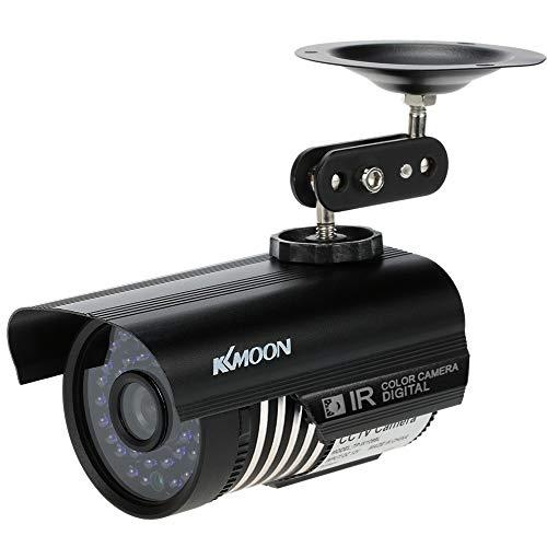 KKmoon 1200TVL Cámara Bala Vigilancia CCTV Analógico