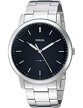 Fossil Men's The Minimalist FS5307 Silver Stainless-Steel Quartz Fashion Watch