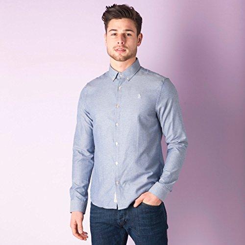 mens-original-penguin-mens-oxford-core-shirt-in-navy-l