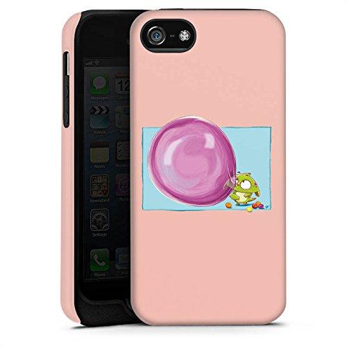 Apple iPhone X Silikon Hülle Case Schutzhülle Monster Kaugummi Kinder Tough Case matt