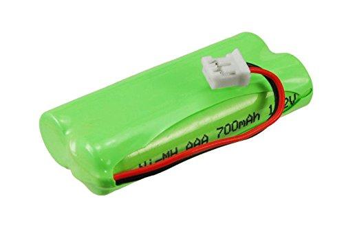 subtel® Batería Premium Compatible con Sagem D16T Duo 2, D16T Duo, D16T, Sagem D18T, Sagem D21T (700mAh) 2SN-AAA55H-S-JP1 bateria de Repuesto, Pila reemplazo, sustitución