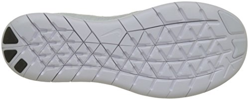 Da Nike 2017 Donna Bianco Libera bianco Nero Grigio Scarpe Rn Puro platino Flyknit Corsa 100 Wmn Bianco nero 8I8rqwY