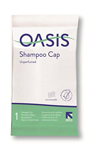 Synergy Oasis Essentials Unscented Rinse Free Shampoo Cap (Pack of 6)