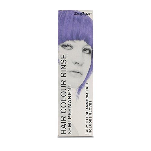 2 x Stargazer Semi Permanent Purple Hair Colour Dye -