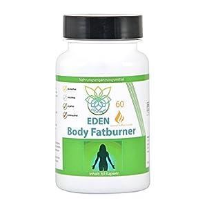 VITARAGNA Eden Body Fatburner Grüner Kaffee Extrakt 60 Kapseln, 500 mg, 50% Chlorogensäure, Green-Coffee