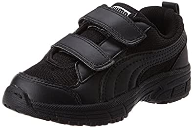 1a11b883f Puma Unisex s Bosco Inf 2 Dp Black and Black Sneakers - 9 Kids UK India