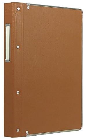 100-sheet vertical red B5 26 hole stuck Kokuyo S & T vinyl binder-MP (japan import)