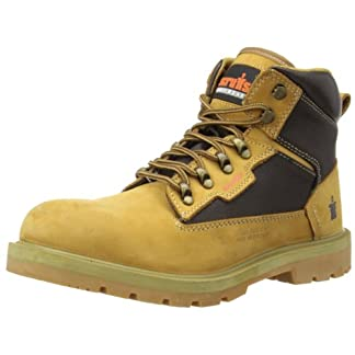 Scruffs Men's Twister Safety Boots Sandstone 7 UK
