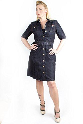 - Jeanskleid, Dunkelblau, XL (50er Jahre-greaser)