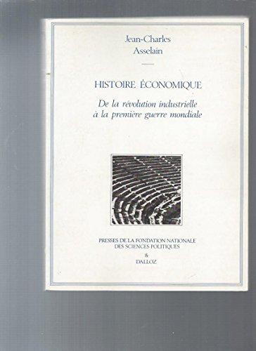 Histoire économique De la révolution industriell...