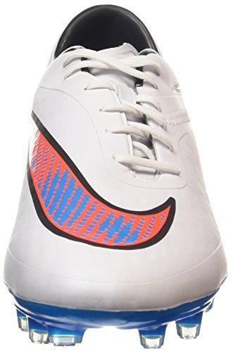 Nike HYPERVENOM Phatal FG, Chaussures de Football homme Blanc (white/bl Lagoon-ttl Crmsn-blk 148)