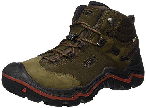 Keen Herren Wanderer Mid WP Trekking-& Wanderstiefel, Braun (Cascade Brown/Bossa Nova 0), 45 EU (Für Männer Keen Schuhe)